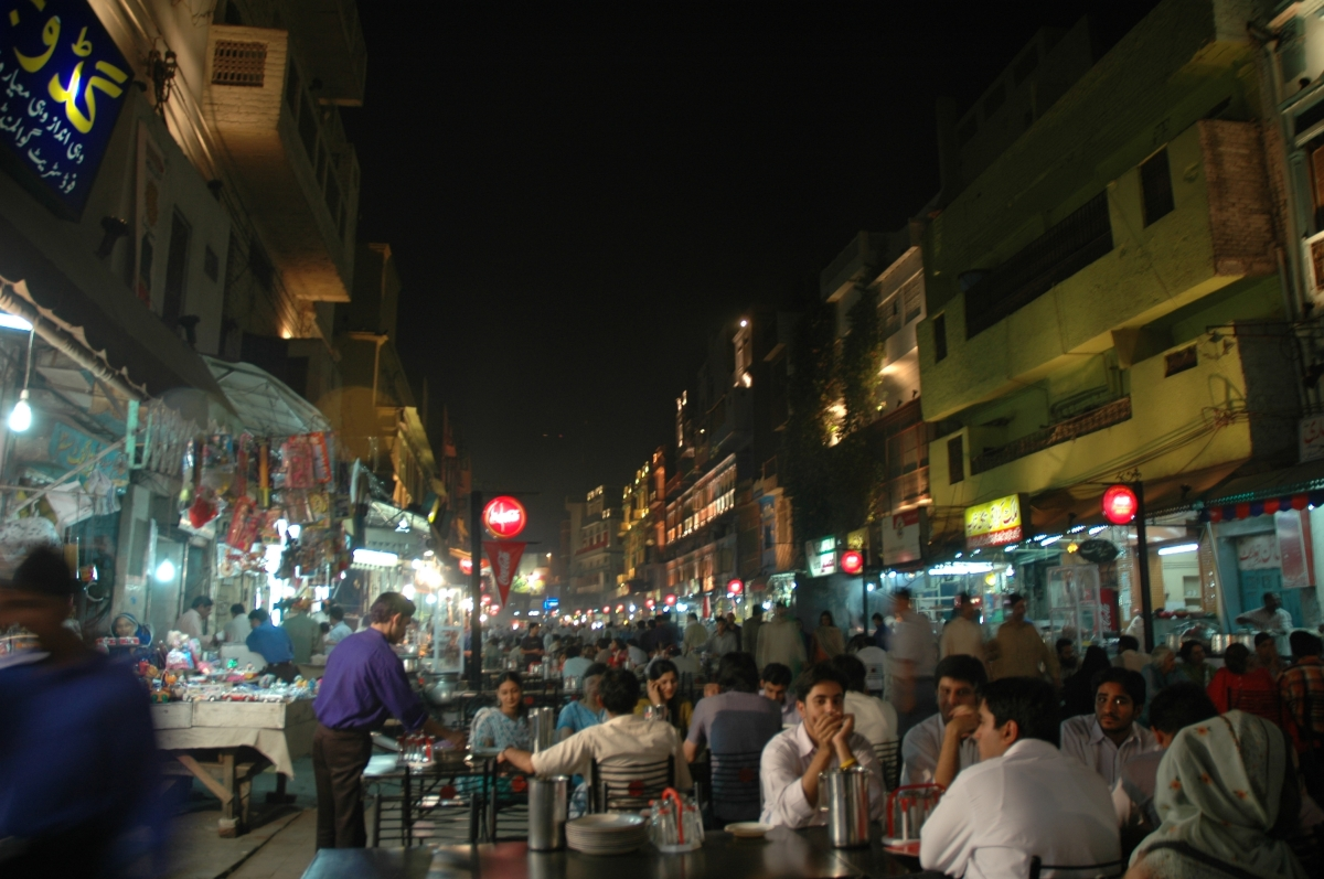 In the food streets of Lahore, YOU LIVE TO EAT