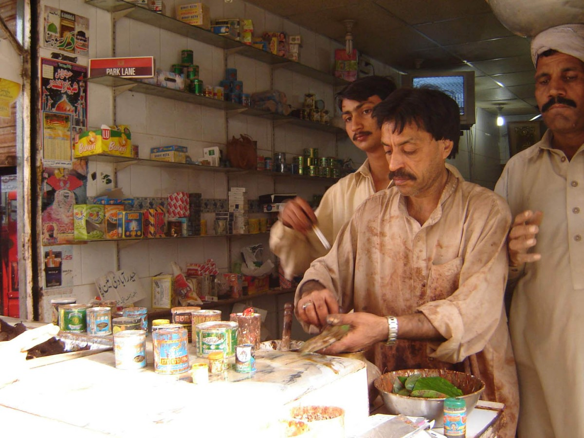 The 'paan' joints in Lahore