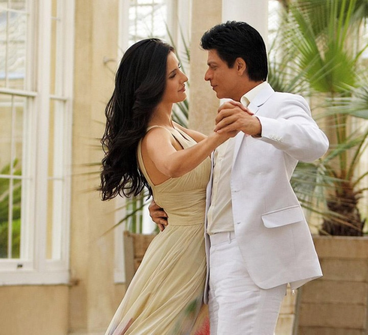 Katrina Kaif & Shahrukh Khan, paired for the first time onscreen