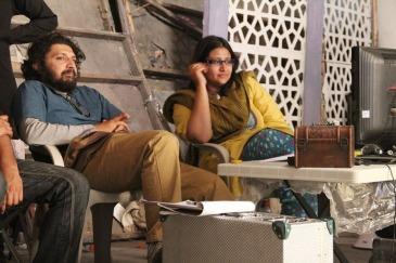 (L-R) Farjad Nabi and Meenu Gaur, the director/writer duo of ZINDA BHAAG.