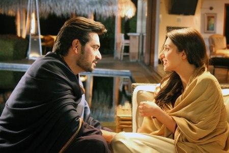 Humayun Saeed and Mahira Khan.